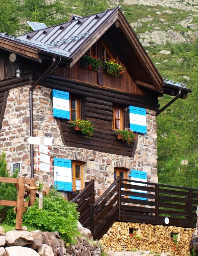 Die vielleicht schönste Unterkunft in den Bergen …