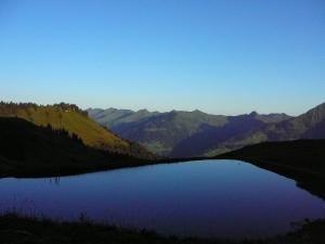 Idylle auf der Breithornhütte