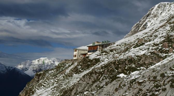 Öffnungszeiten der Berghütten in den Lechtaler Alpen