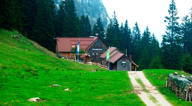 Otto Mayr Hütte – am Fuße der Kellenspitze