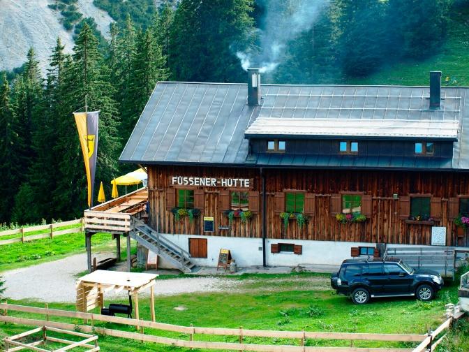 Füssener Hütte – Kleinod im ursprünglichen Reintal