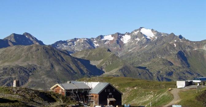 Ulmer Hütte – im Garten der Giganten des Arlberg