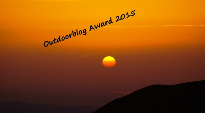 Outdoorblog-Award 2015 – stimme für Deinen Lieblings Blog und gewinne …